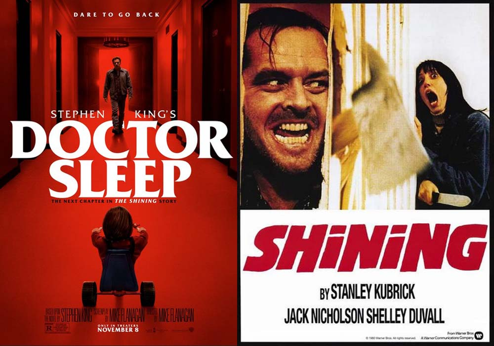 Gambar The Shining dan Doctor Sleep